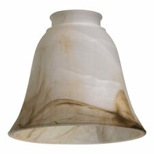 Faux Alabaster Glass Shade