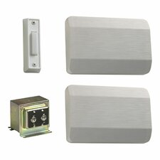 Single Door Chime Kit in White