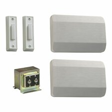 Double Door Chime Kit in White
