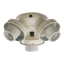 <strong>Quorum</strong> 3 Light Ceiling Fan Light Kit