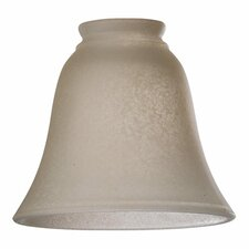Iced Etruscan Shade for Ceiling Fan Light Kit