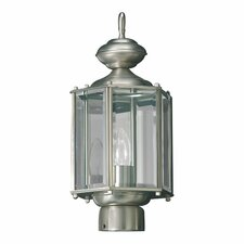 "1 Light 7"" Post Lantern"