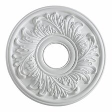 Ceiling Medallion in Studio White