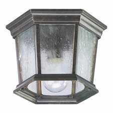 <strong>Quorum</strong> Baltic 1 Light Cast Flush Mount