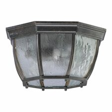 Baltic 2 Light Cast Flush Mount