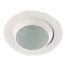"5""  Adjustable Eyeball Recessed Light Trim in White"