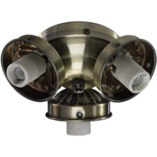 3 Light Ceiling Fan Light Kit