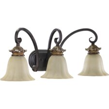 Capella 3 Light Vanity Light