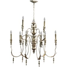 <strong>Quorum</strong> Salento 9 Light Transitional Chandelier