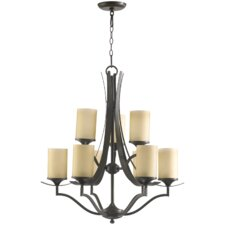 <strong>Quorum</strong> Atwood 9 Light Chandelier