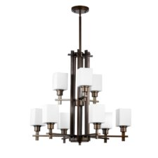 <strong>Quorum</strong> Tate 9 Light Chandelier