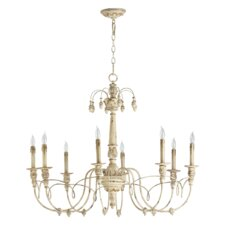 <strong>Quorum</strong> Salento 8 Light Chandelier