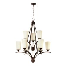 <strong>Quorum</strong> Winslet II 9 Light Chandelier