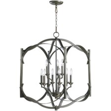 <strong>Quorum</strong> Atwood 9 Light Foyer Pendant