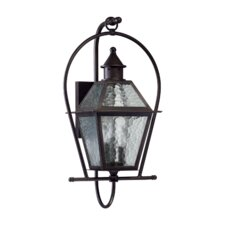 French Quarter 3 Light Outdoor Wall Lantern