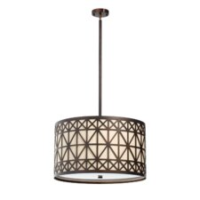 Celest 4 Light Drum Pendant