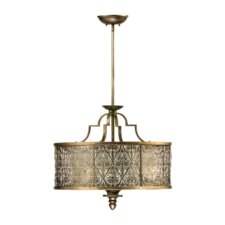 French Damask Light Pendant