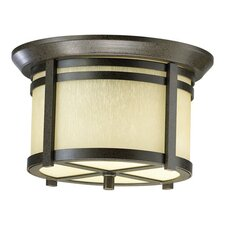 Silo 2 Light Outdoor Flush Mount