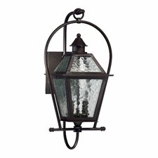 French Quarter 2 Light Outdoor Wall Lantern