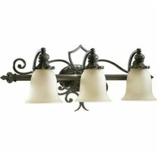 <strong>Quorum</strong> Fulton 3 Light Bath Vanity Light