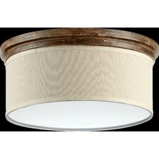 Telluride 3 Light Flush Mount