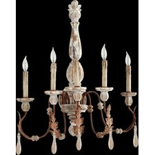 <strong>Quorum</strong> La Maison 5 Light Wall Sconce