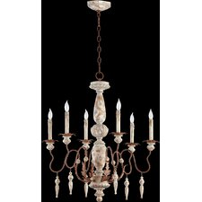 <strong>Quorum</strong> La Maison 6 Light Chandelier