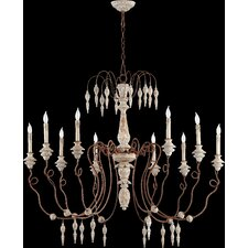 <strong>Quorum</strong> La Maison 10 Light Chandelier