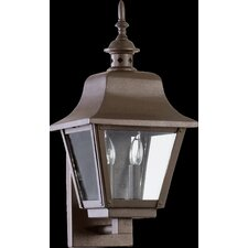 <strong>Quorum</strong> Bishop 2 Light Outdoor Wall Lantern