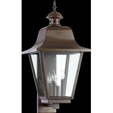 Bishop 4 Light Outdoor Wall Lantern
