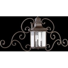 <strong>Quorum</strong> Magnolia 3 Light Outdoor Wall Lantern
