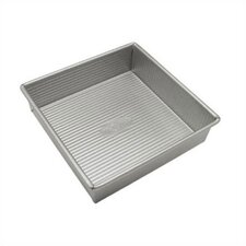 "8"" Square Brownie / Cake Pan with Americoat"