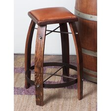 Leather Stave Stool and Barrel Cooler