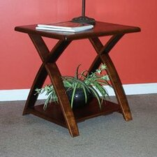 <strong>2 Day Designs, Inc</strong> Traversa End Table