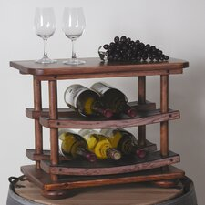 <strong>2 Day Designs, Inc</strong> 6 Bottle Tabletop Wine Rack
