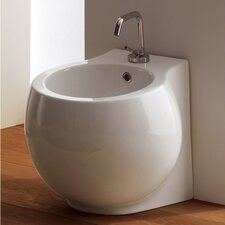 "<strong>Scarabeo by Nameeks</strong> Planet 17.5"" Floor Mount Bidet"