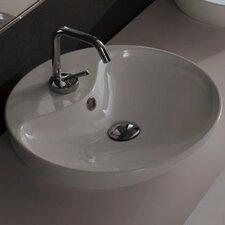 Shape Above Counter Single Hole Bathroom Sink