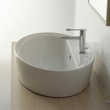 Matty Oval A/R Single Hole Bathroom Sink