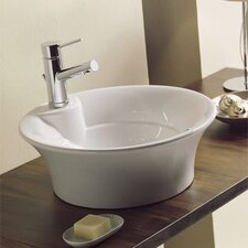 <strong>Scarabeo by Nameeks</strong> Twist Above Counter Single Hole Bathroom Sink