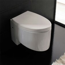 <strong>Scarabeo by Nameeks</strong> Zefiro Wall Mounted Elongated 1 Piece Toilet