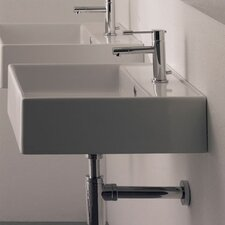 Teorema Wall Mounted Bathroom Sink