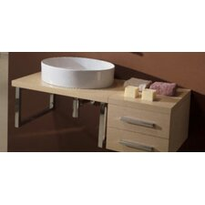 "<strong>Scarabeo by Nameeks</strong> Brio 29"" Wood Console Vanity Top"