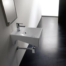 <strong>Scarabeo by Nameeks</strong> Bijoux Wall Mount Bathroom Sink