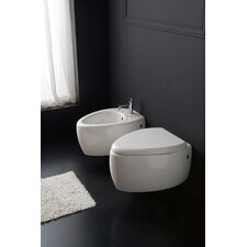 Moai Wall Mount Elongated 1 Piece Toilet