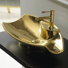 Kong Vessel Bathroom Sink with 1 Hole
