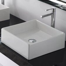 <strong>Scarabeo by Nameeks</strong> Teorema Vessel Bathroom Sink