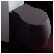 <strong>Scarabeo by Nameeks</strong> Planet Floor Mounted Round Toilet Bowl Only