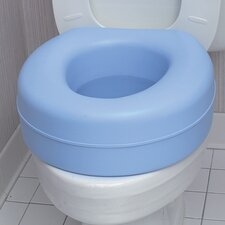 Plastic Raised Toilet Seat