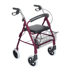 "<strong>Briggs Healthcare</strong> Lightweight Aluminum Rollator with 8"" Wheels"