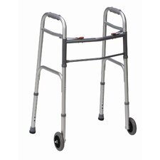 Two-Button Release Folding Walker (Set of 2)